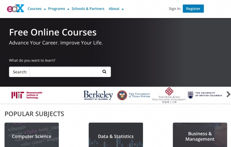 Edx FREE ONLINE COURSES - Advance your career. Improve your life.